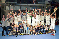 Victoire PSG - 26.04.2015 - Handball - Nantes / Paris Saint Germain - Finale Coupe de France<br /> Photo : Andre Ferreira / Icon Sport