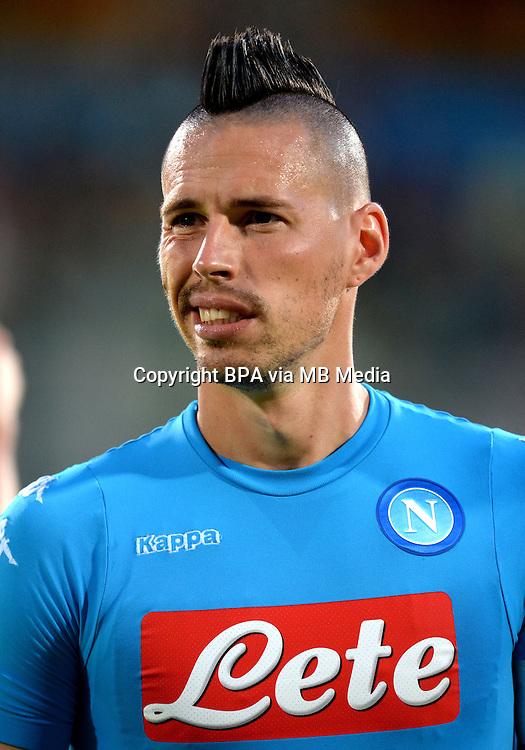 Italian League Serie A -2016-2017 / <br /> ( Ssc Napoli ) - <br /> Marek Hamsik