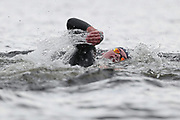 Logan Fontaine (FRA) competes and wins the Bronze medal on Men's 5 kms Open Water during the Swimming European Championships Glasgow 2018, at Tollcross International Swimming Centre, in Glasgow, Great Britain, Day 7, on August 8, 2018 - Photo Stephane Kempinaire / KMSP / ProSportsImages / DPPI