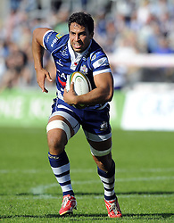 Bristol Rugby's Marco Mama - Photo mandatory by-line: Joe Meredith/JMP - Tel: Mobile: 07966 386802 06/10/2013 - SPORT - FOOTBALL - RUGBY UNION - Memorial Stadium - Bristol - Bristol Rugby V Bedford Blues - The Championship