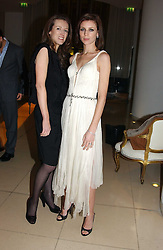 Designer CLARE WAIGHT-KELLER and model LIBERTY ROSS at a Burns Night supper in aid of Clic Sargent & Children's Hospital Association Scotland hosted by Ewan McGregor, Sharleen Spieri and Lady Helen Taylor at St.Martin's Lane Hotel, 45 St Martin's Lane, London on 25th January 2006.<br />