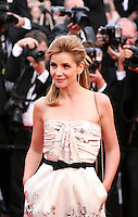 Actress Clotilde Courau at the gala screening of the film De rouille et d'os at the 65th Cannes Film Festival. Thursday 17th May 2012, the red carpet at Palais Des Festivals in Cannes, France.