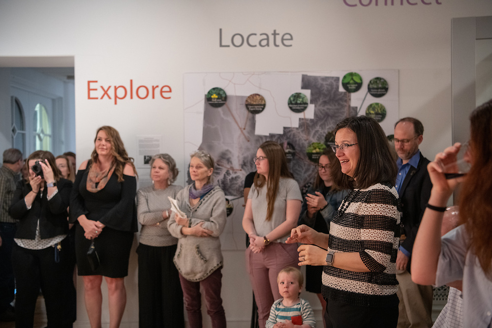 OHIO Museum Complex Gallery Opening, Kennedy Art Museum, RIdges, Facilities, Art, Science, Campus Community Engagement, Place Based Learning