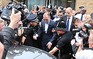 PAUL GASCOIGNE LEAVES STEVENAGE MAGSITRATES COURT HERTFORDSHIRE.5.8.13.PIX STEVE BUTLER