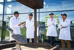 Thatcher's Cider Director Martin Thatcher takes Bristol Sport representatives on a tour of Myrtle Farm - Rogan Thomson/JMP - 29/07/2016 - PR - Myrtle Farm - Sandford, England - Bristol Sport Thatchers Visit.
