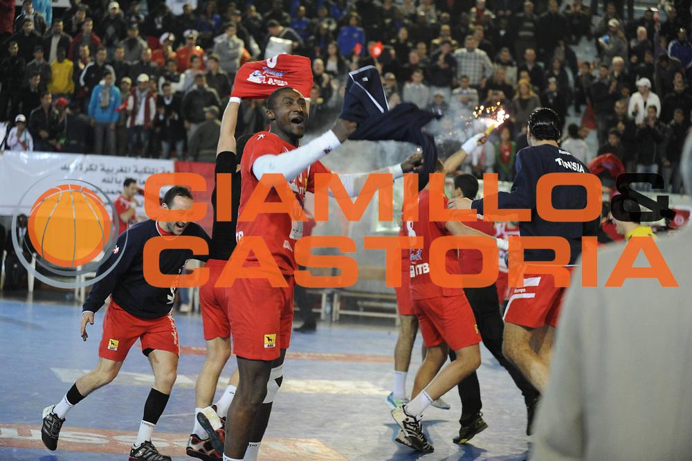 DESCRIZIONE : Hand Coupe Afrique des Nations Homme Maroc Rabat Finale<br /> GIOCATORE : <br /> SQUADRA : Tunisie<br /> EVENTO : FRANCE Hand CAN<br /> GARA : Algerie Tunisie<br /> DATA :20/01/2012<br /> CATEGORIA : Hand CAN<br /> SPORT : Handball<br /> AUTORE : JF Molliere <br /> Galleria : France Hand 2011-2012 Action<br /> Fotonotizia : CAN Hand RABAT Maroc Finale<br /> Predefinita :
