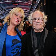 NLD/Utrecht/20121005- Gala van de Nederlandse Film 2012, filmregisseur Jos Stelling en partner