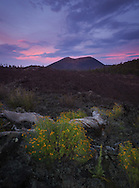 Sunset Crater, National Monument, sunset, Flagstaff, AZ