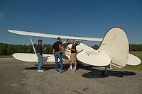Lakes Biplane at Newport NH Airport