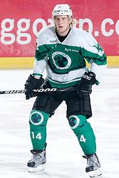 Anze Florjancic of HK Olimpija during ice-hockey match between HK Olimpija and HK Jesenice Mladi in SLOHOKEJ league, on Januar 8, 2011 at Hala Tivoli, Ljubljana, Slovenia. (Photo By Matic Klansek Velej / Sportida.com)