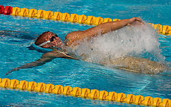 Robi Zbogar of Slovenia competes during Men's  50m Backstroke Heats during the 13th FINA World Championships Roma 2009, on August 1, 2009, at the Stadio del Nuoto,  in Foro Italico, Rome, Italy. (Photo by Vid Ponikvar / Sportida)