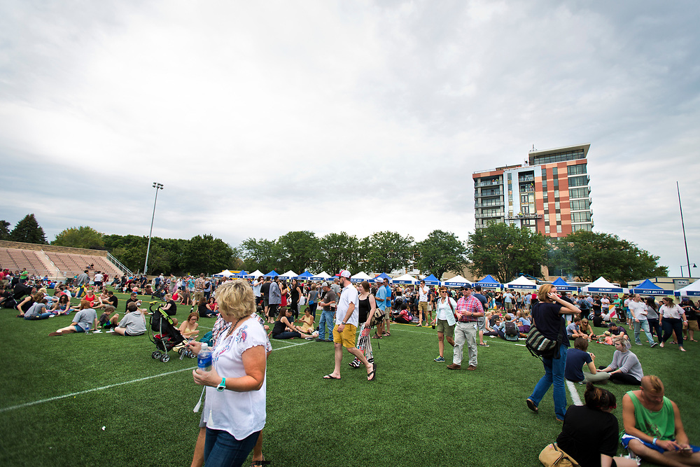 Despite the chance of rain throughout the afternoon, festival-goers enjoyed the 4th annual Yum Yum Fest held at Breese Stevens Field, Sunday, August 6, 2017.