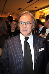 DIEGO DELLA VALLE at a party to launch the book 'Italian Touch' - A Celebration of Italian Lifestyle held at TOD's, 2-5 Old Bond Street, London on 4th November 2009.