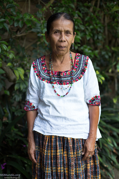 "War victim and sexual slavery survivor Demecia Yat, 63, poses for a photo. Ms. Yat is one of 15 Q'eqchi' Mayan indigenous women who were plaintiffs in the landmark Sepur Zarco case. The women were enslaved in 1982, shortly after the forced disappearance of their husbands, and systematically raped and forced into bondage for up to six years at the Zepur Sarco military camp. In 2016, the landmark Sepur Zarco trial sentenced two men for the crimes during the Guatemalan internal armed conflict. It is the first time a national court condemns sexual slavery crimes as an act of war. Ms Yat stated: ""We came out and followed through with the legal case so that the whole World will know what happened, and so that it won't happen again."" Ms. Yat's deceased husband, Juan Choc, was forcibly disappeared along with other male family members from the other surviving women in May 1982 during the de facto government of Efrain Rios Montt. Guatemala City, Guatemala. May 25, 2017."