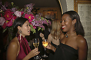 Chomwan Weeraworawit and Susan Bender, Plum Sykes, book launch party, Annabel's, Berkeley Square, London, W1,10 May 2006.  Matthew Williamson, Catherine Vautrin, Laudomia Pucci host party to celebrate 'The Debutante Divorcee'. ONE TIME USE ONLY - DO NOT ARCHIVE  © Copyright Photograph by Dafydd Jones 66 Stockwell Park Rd. London SW9 0DA Tel 020 7733 0108 www.dafjones.com