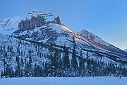The Canadian Rocky Mountains, Kootenay National Park, British Columbia, Canada