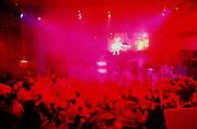Crowd on the dancefloor, Renaissance club night, at Media, Nottingham, UK. 2000's