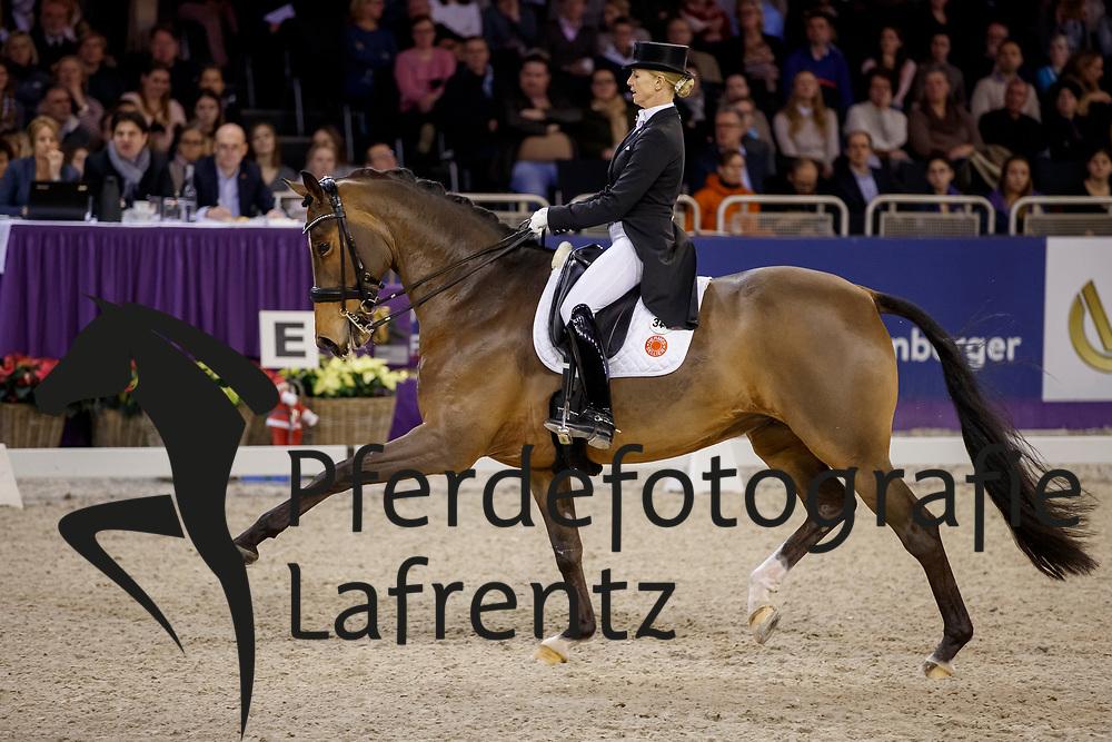 BREDOW-WERNDL Jessica (GER) Zaire-E<br /> Frankfurt - Festhallen Reitturnier 2017<br /> Grand Prix Special - Preis der Liselott-Schindling Stiftung <br /> &copy; www.sportfotos-lafrentz.de