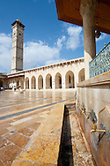 The great mosque in Aleppo, Syria