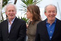 Director Jean-Pierre Dardenne, Actress Adele Haenel and director Luc Dardenne at The Unknown Girl (La Fille Inconnue)  film photo call at the 69th Cannes Film Festival Wednesday 18th May 2016, Cannes, France. Photography: Doreen Kennedy