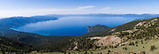 Gigapixle lake tahoe panorama from Rose Knob Peak
