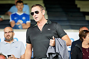 Peterborough United owner Darragh MacAnthony before the Pre-Season Friendly match between Peterborough United and Bolton Wanderers at London Road, Peterborough, England on 28 July 2018. Picture by Nigel Cole.