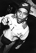 MC Lyte at the London Astoria, UK, 1987