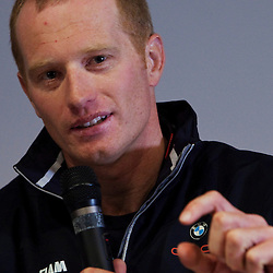 James Spithill (AUS) Skipper / Helmsman<br /> BMW Oracle Racing Team<br /> 2010 America's Cup, Valencia<br /> <br /> ©2010 Kaufmann/Forster go4image.com