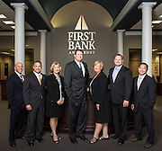 First Bank & Trust staff of Harvey branch