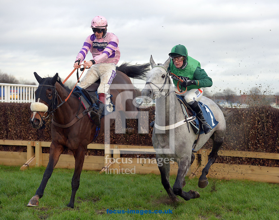 A preview of this weekend's favourites in UK Racing.<br /> Picture by Martin Lynch/Focus Images Ltd 07501333150<br /> 09/12/2016<br /> <br /> Original caption:<br /> Left is BOUVREUIL with S Twiston-Davies wins from right VYTA DU ROC 2nd in Novice Chase at Doncaster 8-1-16.