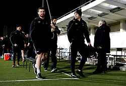 Worcester Warriors arrive in Brive for the European Challenge Cup fixture - Mandatory by-line: Robbie Stephenson/JMP - 14/01/2017 - RUGBY - Stade Amedee-Domenech - Brive-la-Gaillarde,  - Brive v Worcester Warriors - European Challenge Cup