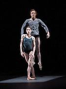 Infra<br /> The Royal Ballet <br /> at the Royal Opera House, Covent Garden, London, Great Britain <br /> rehearsal of Infra<br /> 12th November 2008 <br />  <br /> Infra <br /> Choreography by Wayne McGregor<br /> World Premier<br /> <br /> Leanne Benjamin <br /> Edward Watson<br /> Lauren Cuthbertson<br /> Ricardo Cervera<br /> Mara Galeazzi<br /> Paul Kay <br /> Marianela Nunex<br /> Ryoichi Hirano <br /> Yuhui Choe<br /> Eric Underwood<br /> Melissa Hamilton<br /> Johnathan Watkins<br /> <br /> Photograph by Elliott Franks