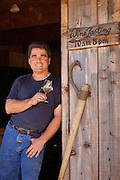 Dyson DeMara, Hillcrest Vineyards owner; Umpqua Valley, Oregon..#D0309324