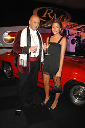 REBECCA LOOS and MICHAEL ROSS at a preview of a forthcoming sale of cars from the Bernie Ecclestone Car Collection held at Battersea Evolution, Battersea Park, London SW11 on 30th October 2007.<br /><br />NON EXCLUSIVE - WORLD RIGHTS