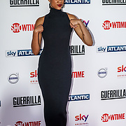 London,England,UK. 6th April, 2017. ,Zawe Ashton attends the UK premiere of Sky Original Production Guerrilla at The Curzon,Bloomsbury,London,UK. by See Li