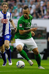 25.09.2011, Weser Stadion, Bremen, GER, 1.FBL, Werder Bremen vs Hertha BSC, im Bild.Marko Arnautovic (Bremen #7).// during the Match GER, 1.FBL, Werder Bremen vs Hertha BSC on 2011/09/25,  Weser Stadion, Bremen, Germany..EXPA Pictures © 2011, PhotoCredit: EXPA/ nph/  Gumz       ****** out of GER / CRO  / BEL ******