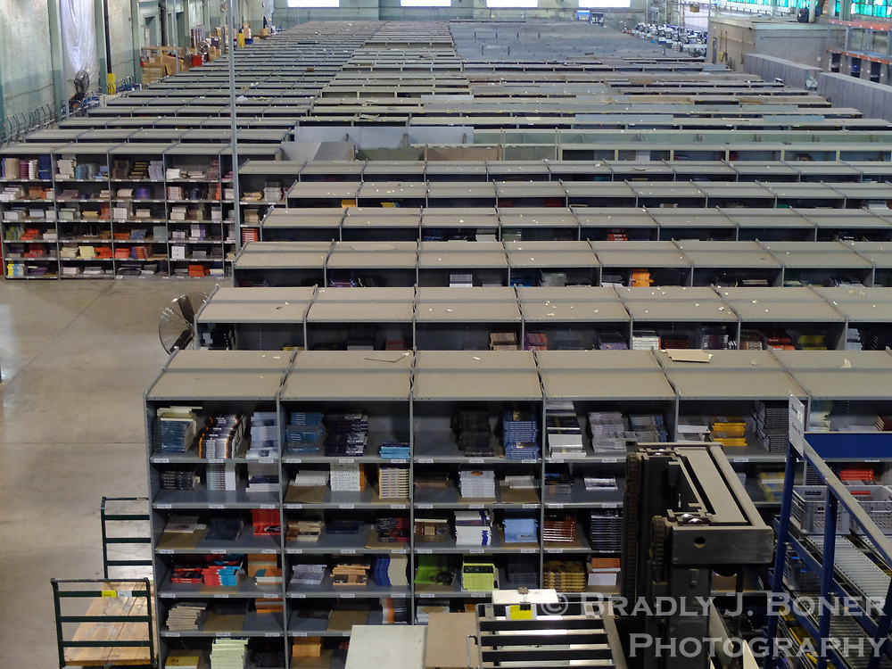 University of Chicago Press warehouse
