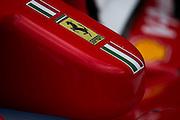 October 27, 2016: Mexican Grand Prix. Ferrari front nose detail