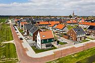 Nederland, Middenbeemster, 20190405<br /> Dorp Middenbeemster midden in polder De Beemster, beroemd om z'n strakke en letterlijk rechtlijnige landinrichting. Daarom staat deze polder ook op de Unesco lijst voor Wereld Erfgoed.<br /> <br /> Foto: (c)Michiel Wijnbergh