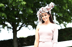 Rebecca Roberts during Ladies Day of the 2019 Invested Derby Festival at Epsom Racecourse, Epsom.