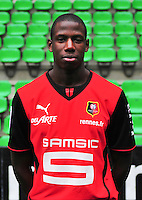 Abdoulaye DOUCOURE - 19.09.2013 - Photo officielle - Rennes - Ligue 1<br /> Photo : Philippe Le Brech / Icon Sport