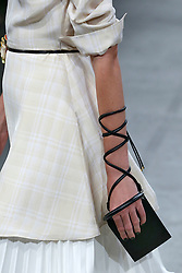 Details, accessories, handbags and shoes on the runway during the Creatures of the Wind Fashion show at New York Fashion Week Spring Summer 2018 held in New York, NY on September 9, 2017. (Photo by Jonas Gustavsson/Sipa USA)