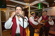 A Sicilian folkloric group sings and dances for and with the Passengers of the Royal Clipper.