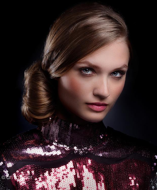 Model: Patrycja Walczak Hair: Fabien Provost Makeup: Laurianne Rousse Stylist: Dominique Evêque Editor: Virginie de Tarlé Editor ll: Céline Mollet Production: Guerric de Beauregard for LaScad l'Oréal