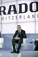 Matthias Breschan President of Rado brand during press conference at the Uffcio Primo Club in Warsaw on April 30, 2014.<br /> <br /> Poland, Warsaw, April 30, 2014<br /> <br /> Picture also available in RAW (NEF) or TIFF format on special request.<br /> <br /> For editorial use only. Any commercial or promotional use requires permission.<br /> <br /> Mandatory credit:<br /> Photo by © Adam Nurkiewicz / Mediasport