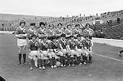 08.08.1971 Football All Ireland Junior Semi Final Mayo Vs Tyrone.Mayo Team