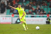Robbie McDaid (32) of York City passing the ball during the Vanarama National League match between Eastleigh and York City at Arena Stadium, Eastleigh, United Kingdom on 12 November 2016. Photo by Graham Hunt.