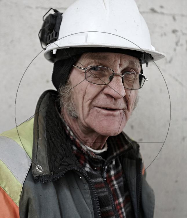 DLG-siloen Nordhavn, Unionkul, ombygning af kornsilo til luksuslejligheder, Klaus Kastbjerg, arbejdsmand, arbejder, betonarbejder, sikkerhedshjelm, sikkerhed på arbejdsplads, arbejdserfaring