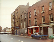Old Dublin Amature Photos July 1983 WITH, Broadstone House, Steps, North Kings St, Mountjoy, St, Convent, Cullens 53, Whiskey Still, Kings Inn, HILLMAN AVENGER CAR, FORD ESCORT, MK2,