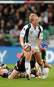 Twickenham, GREAT BRITAIN, Shane GERAGHTY, looking for support, during the EDF Energy Cup rugby match,  Harlequins vs London Irish, at Twickenham Stoop, Surrey on Sat 25.10.2008 [Photo, Peter Spurrier/Intersport-images]